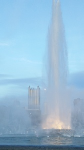 Fountain at the point in Pittsburgh
