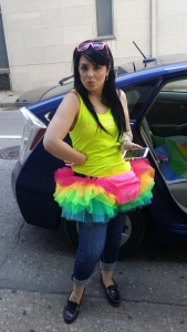 Jess Before Gay Pride Parade Pittsburgh