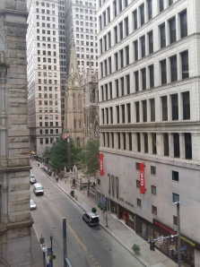View from Wood street offices Pittsburgh