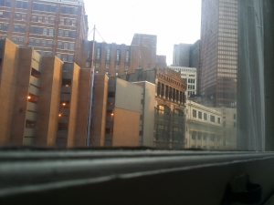 Liberty ave Pittsburgh from our apt