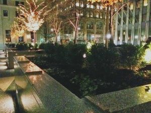 I love Mellon Square during this time of year...