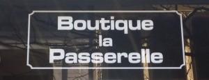 boutique la passerelle sign