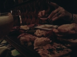 We LOVED the varied Charcuterie appetizer