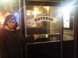 The decor, food, drinks and overall experience was AMAZING! Thank you Butcher and the Rye!