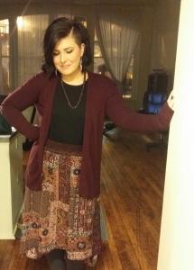 jess modeling skirt pittsburgh