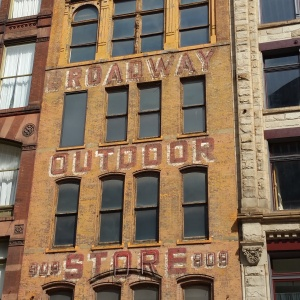 old Army Navy store building Pittsburgh